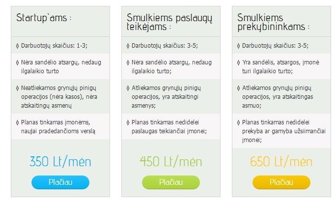 ekiu-buhalterines-apskaitos-kainos